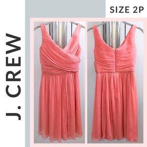 🌟 EUC 🌟 J. Crew Silk Dress (size 2P)
